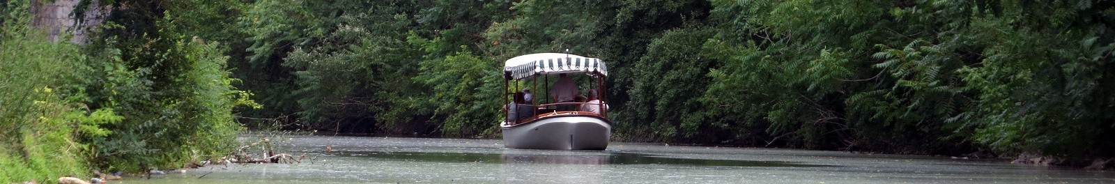 C&O Canal electric launch boat