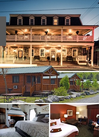 Accomodation collage